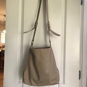 Lucky Brand tan purse, leather, used condition